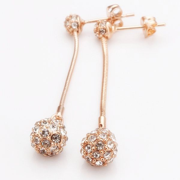 Beiliwol Wholesale Rose Gold Color Fashion Jewelry Multicolor