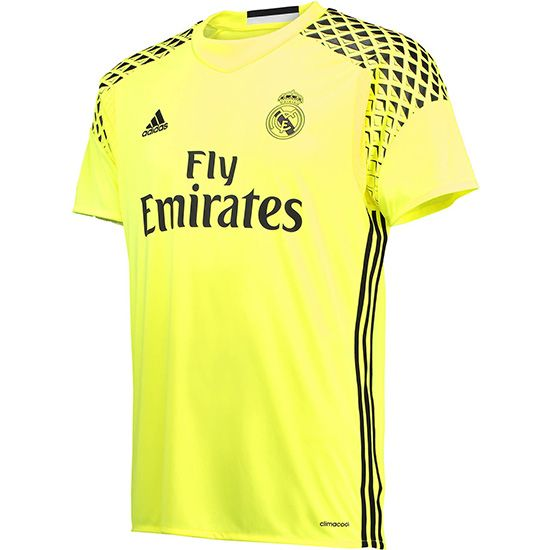 64d8fc189dc34 Camiseta Real Madrid Portero Segunda 2016-17
