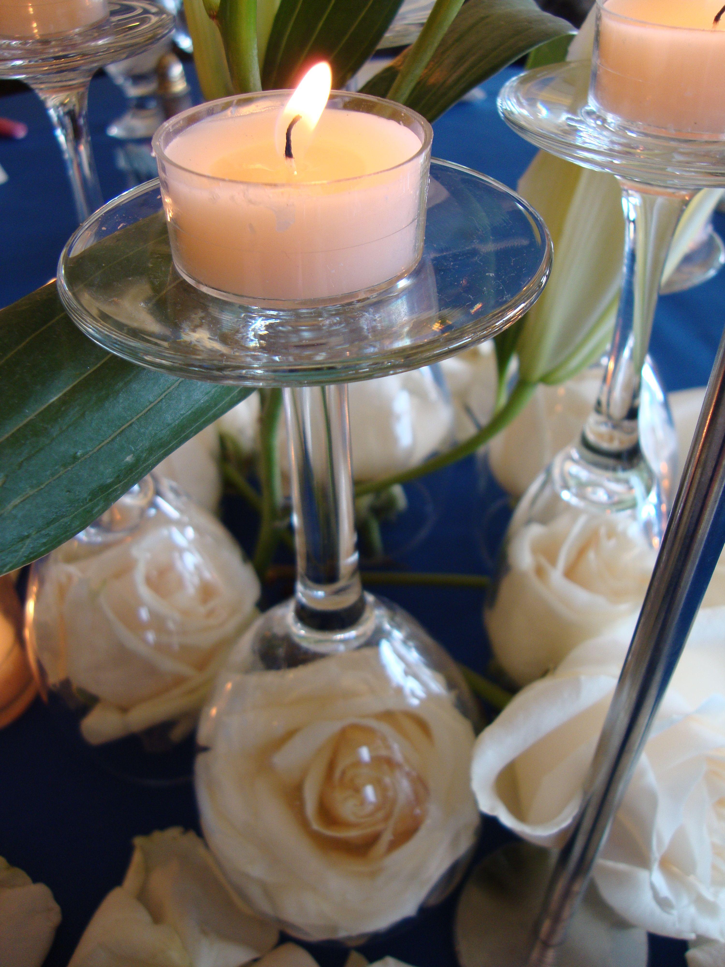Olson wedding flowers  white and blue very pretty