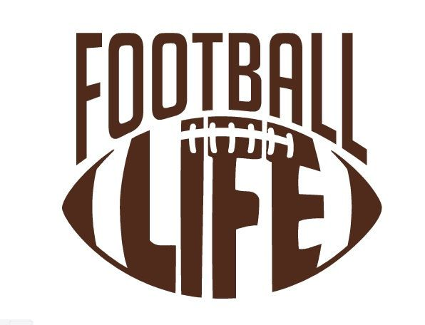 Football Life Decal Football Decal Football Life Sticker Car - Football custom vinyl decals for cars