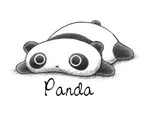 Baby Cartoon Panda Oo Panda Mania Oo