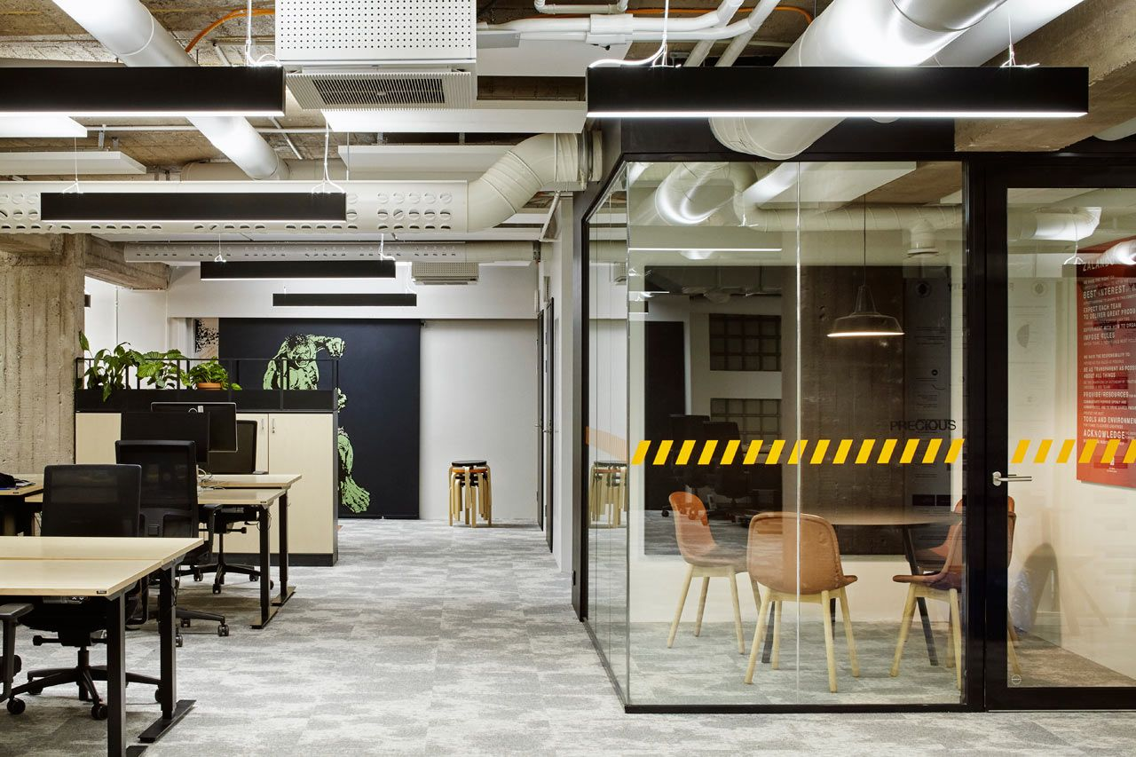 A Tech Company in Helsinki Upgrades to a New, Fun Office