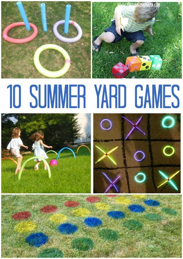 Backyard Games For Summer Summer Home Days Backyard Games