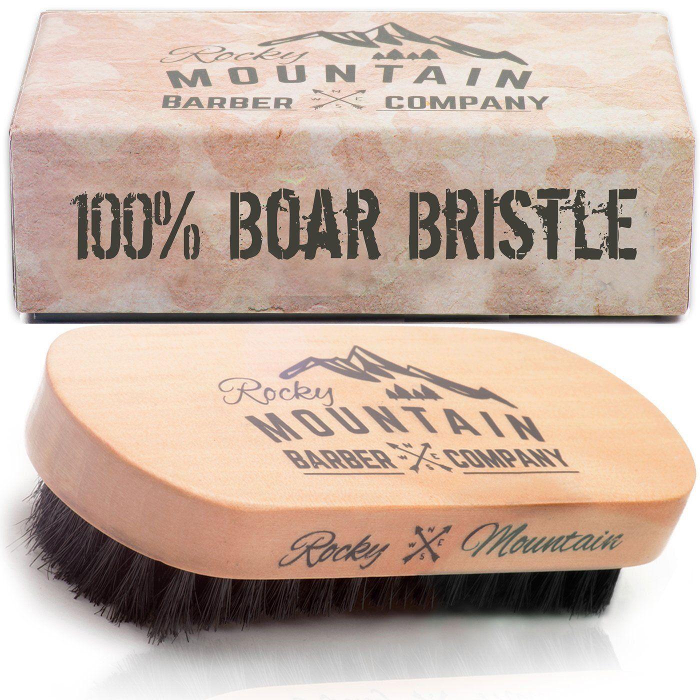 Beard Brush for Men 100 Pure Boar Hair Natural Bristle