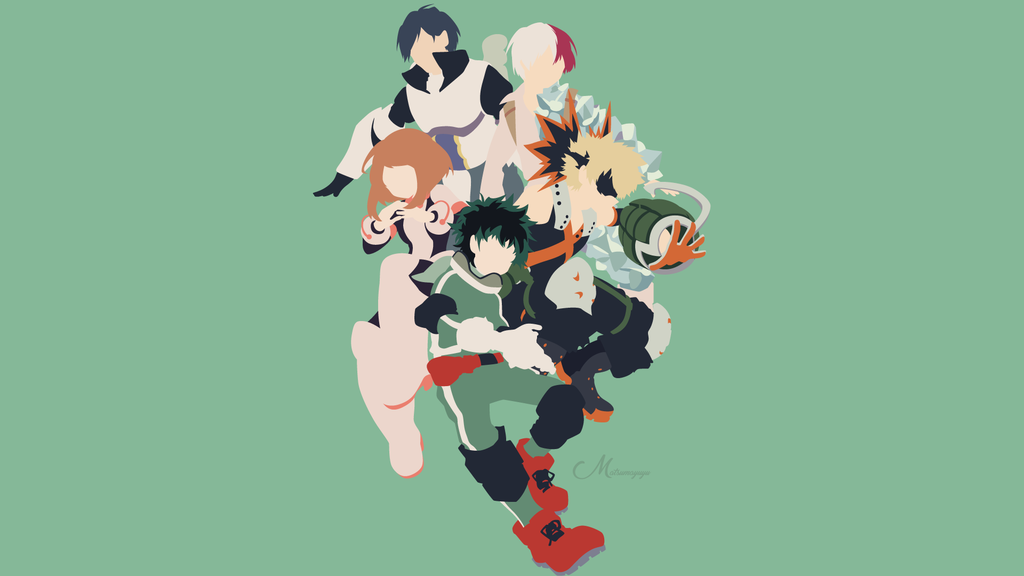 Boku No Hero Academia By Matsumayu In 2020 Anime Canvas Bleach Anime Art Hero Wallpaper