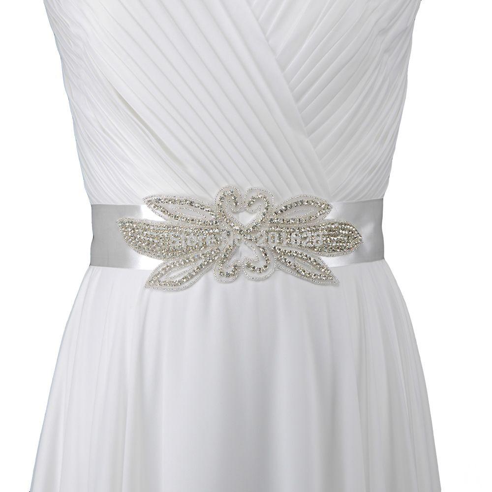 Crystal Belts For Wedding Dresses