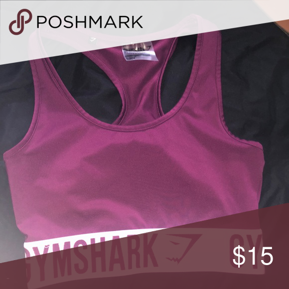 b598849acc7b9 Gym shark sport bra Never worn sport bra Gymshark Intimates   Sleepwear Bras