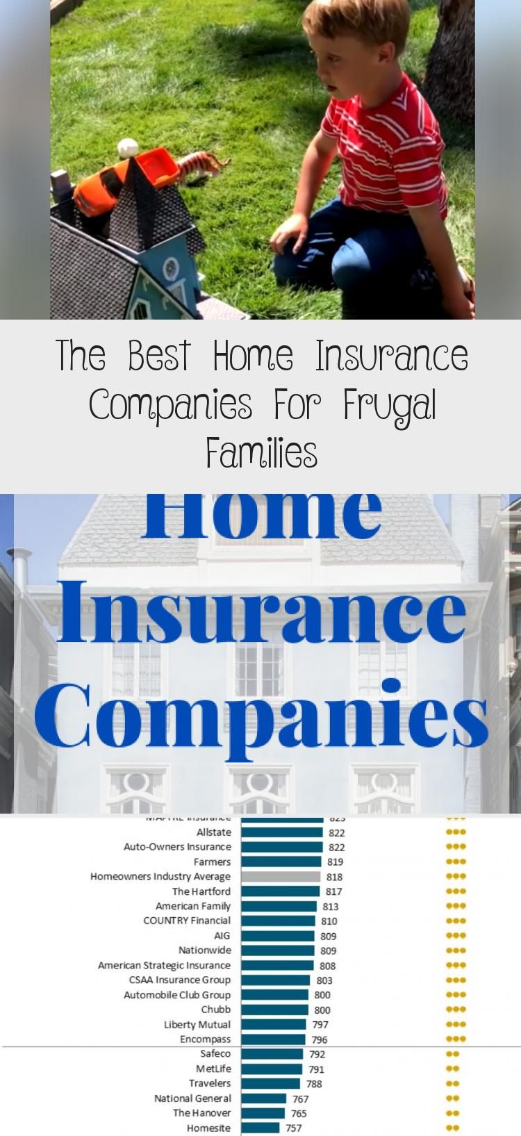 The Best Home Insurance Companies For Frugal Families in