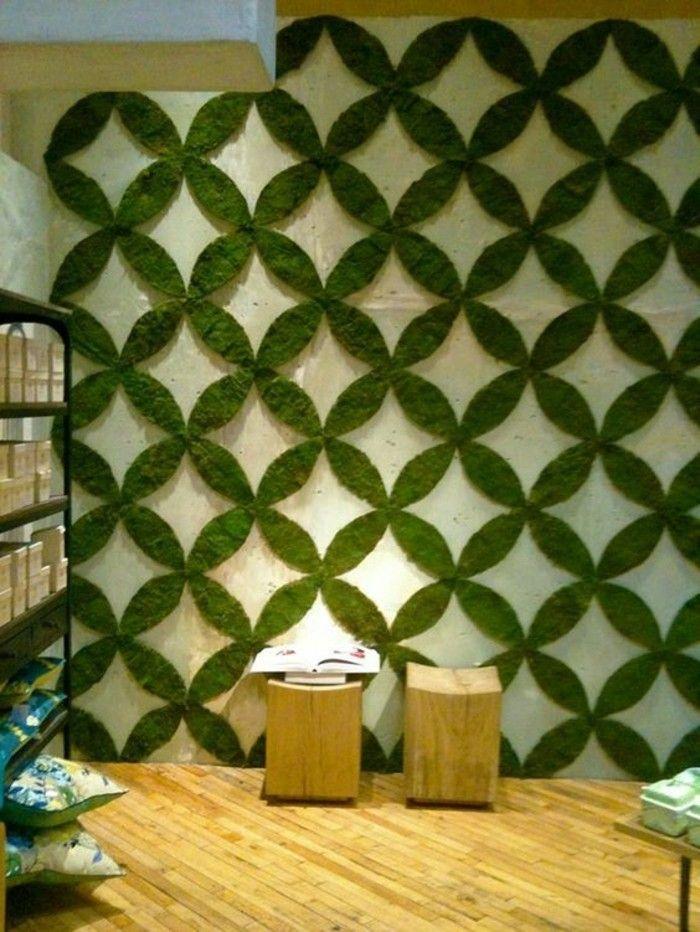 Wanddeko selber machen eine k nstlerische - Grune wand selber bauen ...