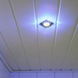 Lhg 5-er Set Deckeneinbauleuchte Gu10 7W warmweiß +blau 120347 Lhg Light