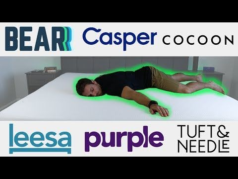 Review Of The Best Bed In A Box Mattress Brands Leesa Casper Purple Bear Cocoon By Sealy And Tuft N Mattress Buying Guide Tuft Needle Mattress Buying