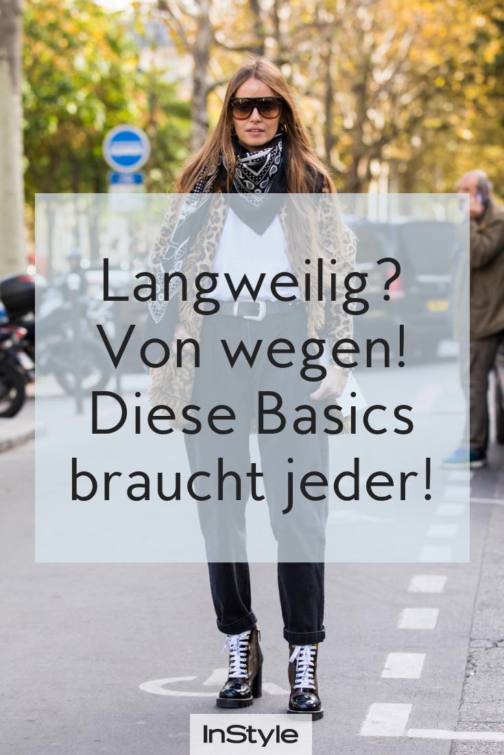 5 Basics Die Du In Deinem Schrank Haben Solltest Obwohl Sie Total Langweilig Sind Mode Fur Vollschlanke Franzosisch Frauen Stil Buro Mode Frauen