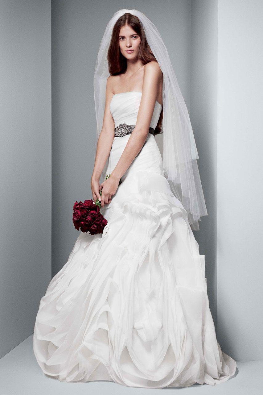 White by Vera Wang Wedding Dresses | Vera wang wedding, Vera wang ...