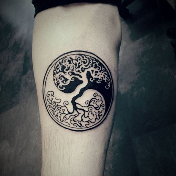Yin Yang Zeichen Tattoos 2018 - Neu Tatto Designs 2018