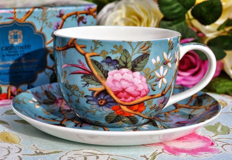 New China Teacups, Saucers, Tea Plates