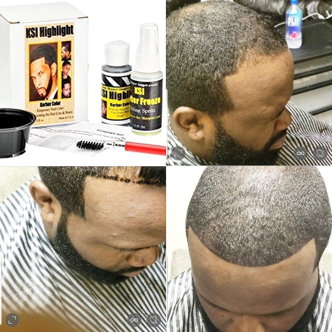 Buy beard colour and get free by ksi highlight barber shop