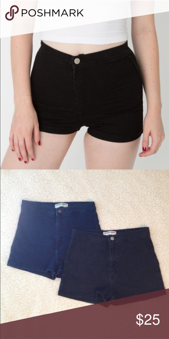 American Apparel Easy Jean Shorts | Shorts, D and American apparel ...