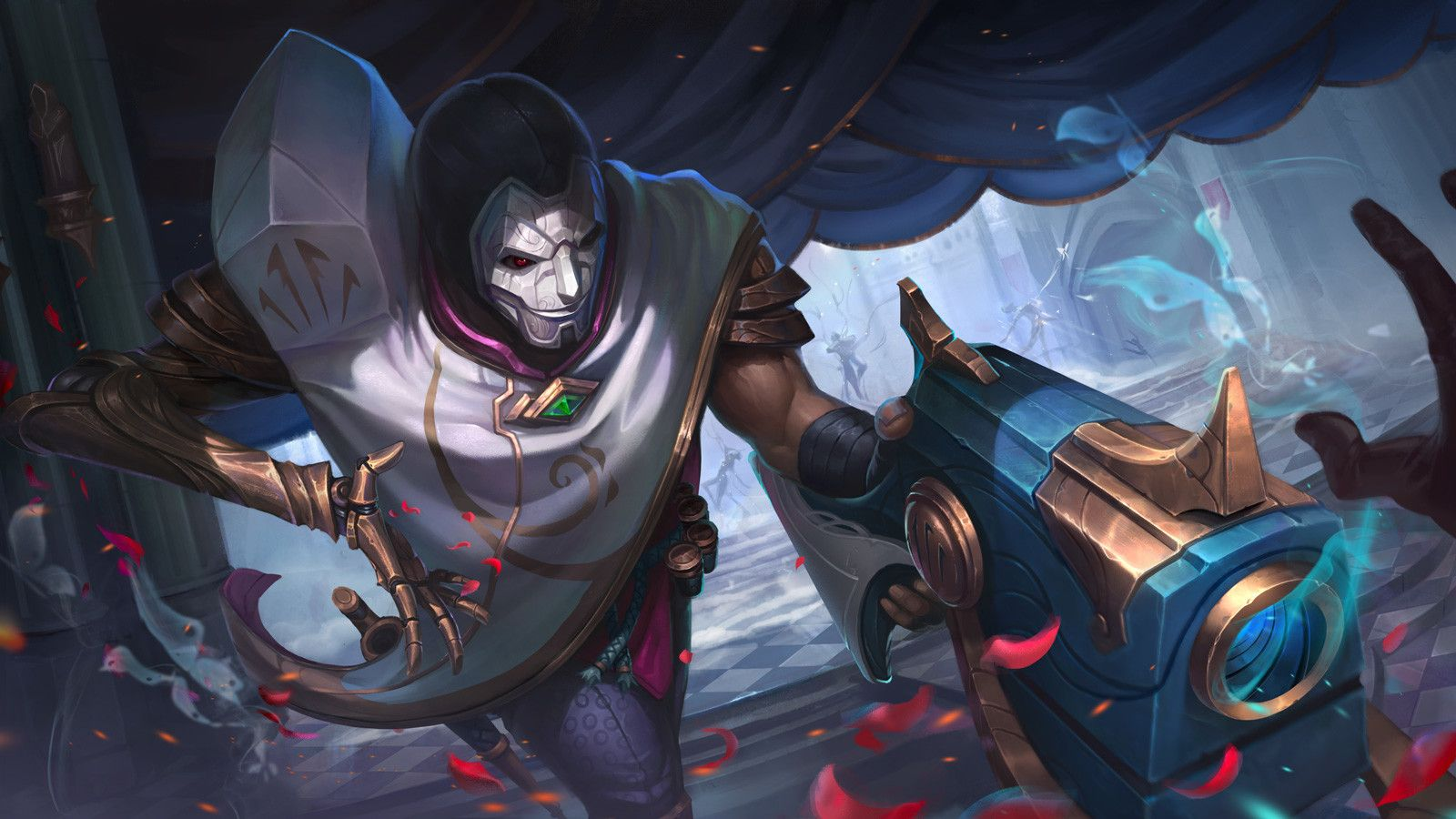 20 Skt T1 Jhin Splash Pictures And Ideas On Meta Networks