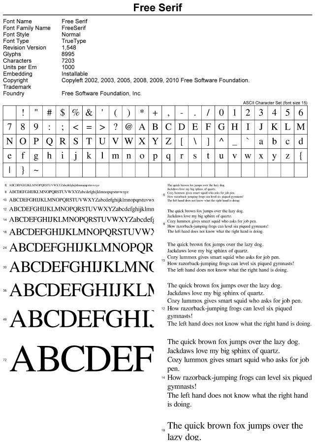Free serif font free download serif and fonts free serif font altavistaventures Images