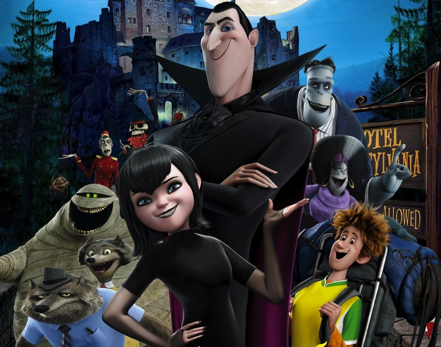 Hotel Transylvania Pelicula Completa En Español Hd Animación Comedia Fantástico Peliculas De Disney Hotel Transylvania Película Completa Peliculas