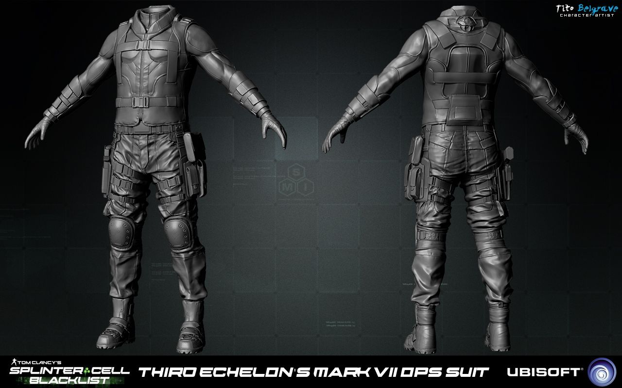 splinter cell blacklist art dump page 2 polycount forum - Splinter Cell Halloween Costume