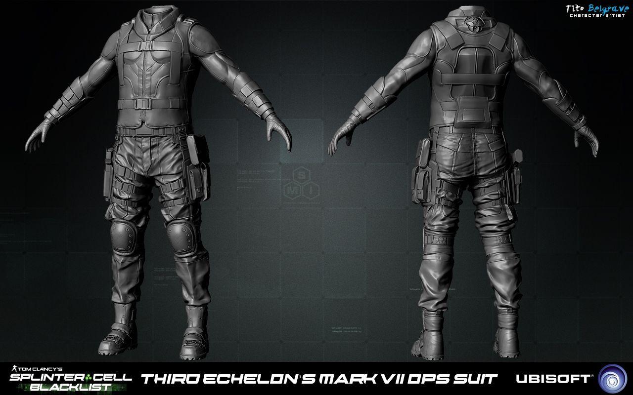 splinter cell blacklist art dump page 2 polycount forum - Splinter Cell Halloween Costume