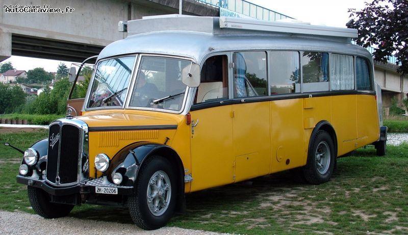 thanks to jean claude m pas de calais a former bus brand saurer 1954 switzerland trailer. Black Bedroom Furniture Sets. Home Design Ideas