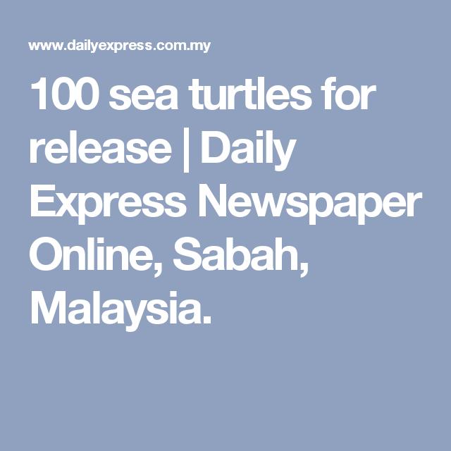 Daily express newspaper online sabah malaysia
