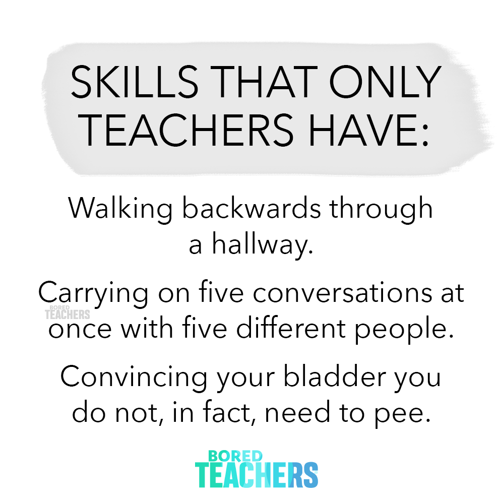 Bored Teachers   Celebrating Educators Every Day.
