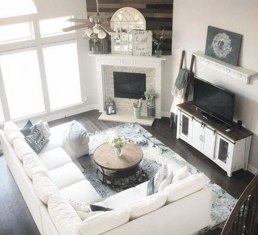 46 Inspiring Rustic Home Decor Living Room Ideas
