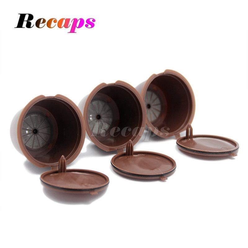 3pcs/pack Refillable Dolce Gusto coffee Capsule nescafe dolce ...