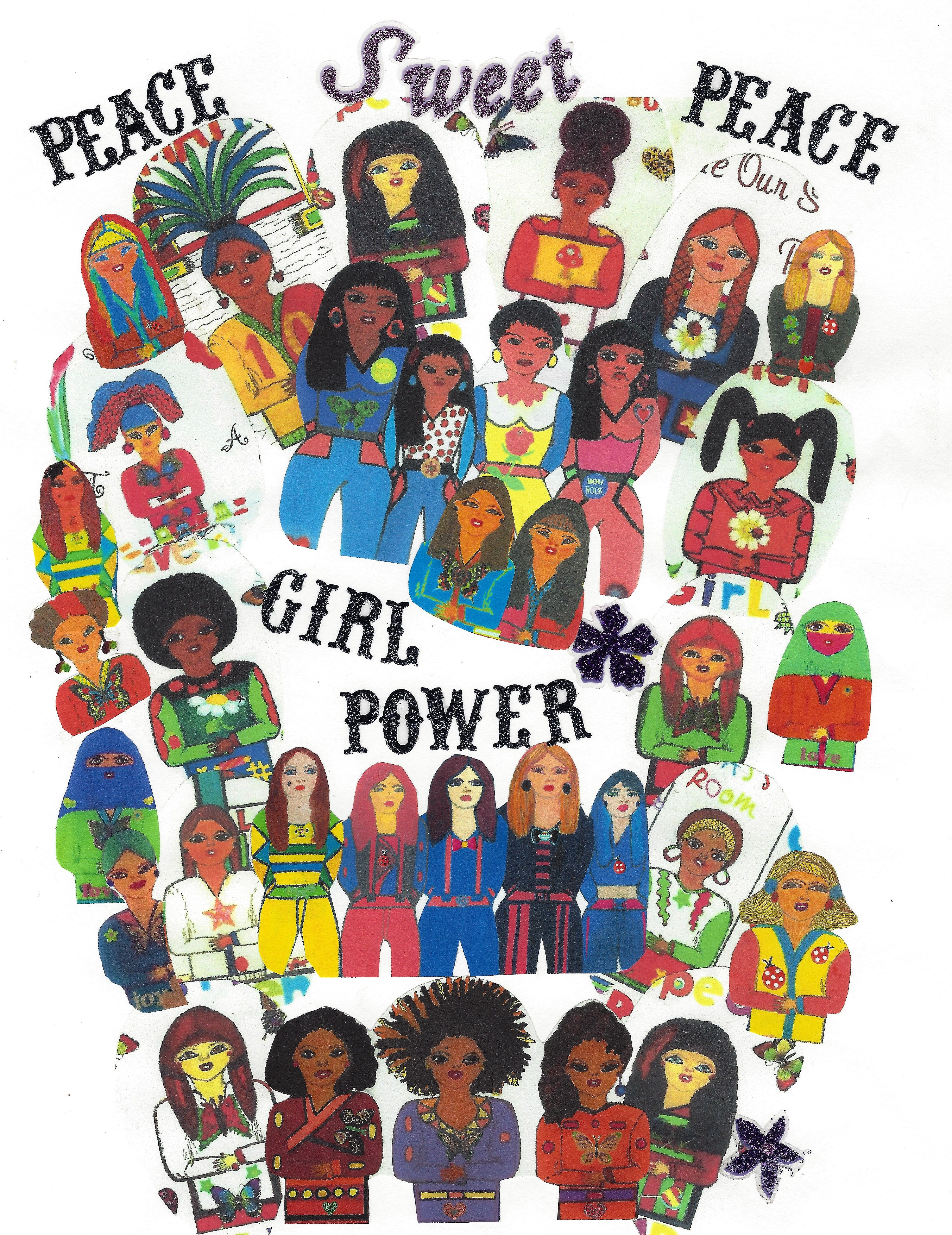 Ms. Urban Jams and her diversity girls.