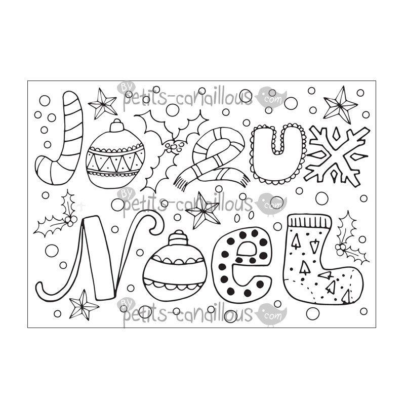 R sultat de recherche d 39 images pour coloriage joyeux noel noel pinterest - Dessin joyeux noel ...