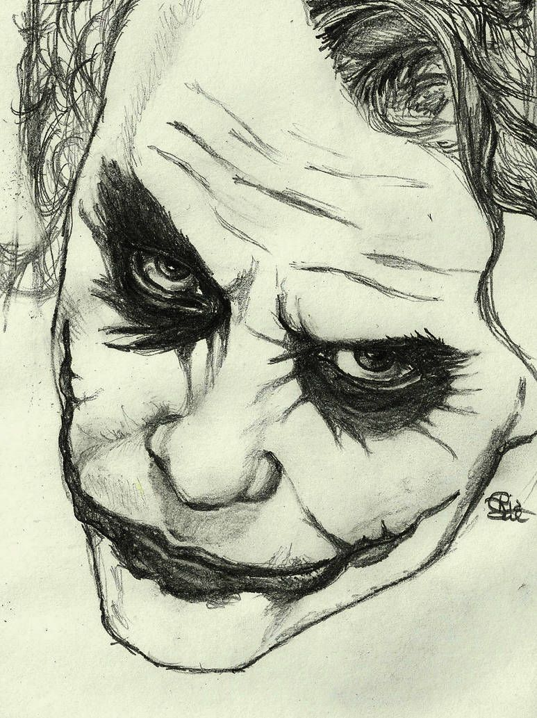 The Joker by RiaSal on DeviantArt