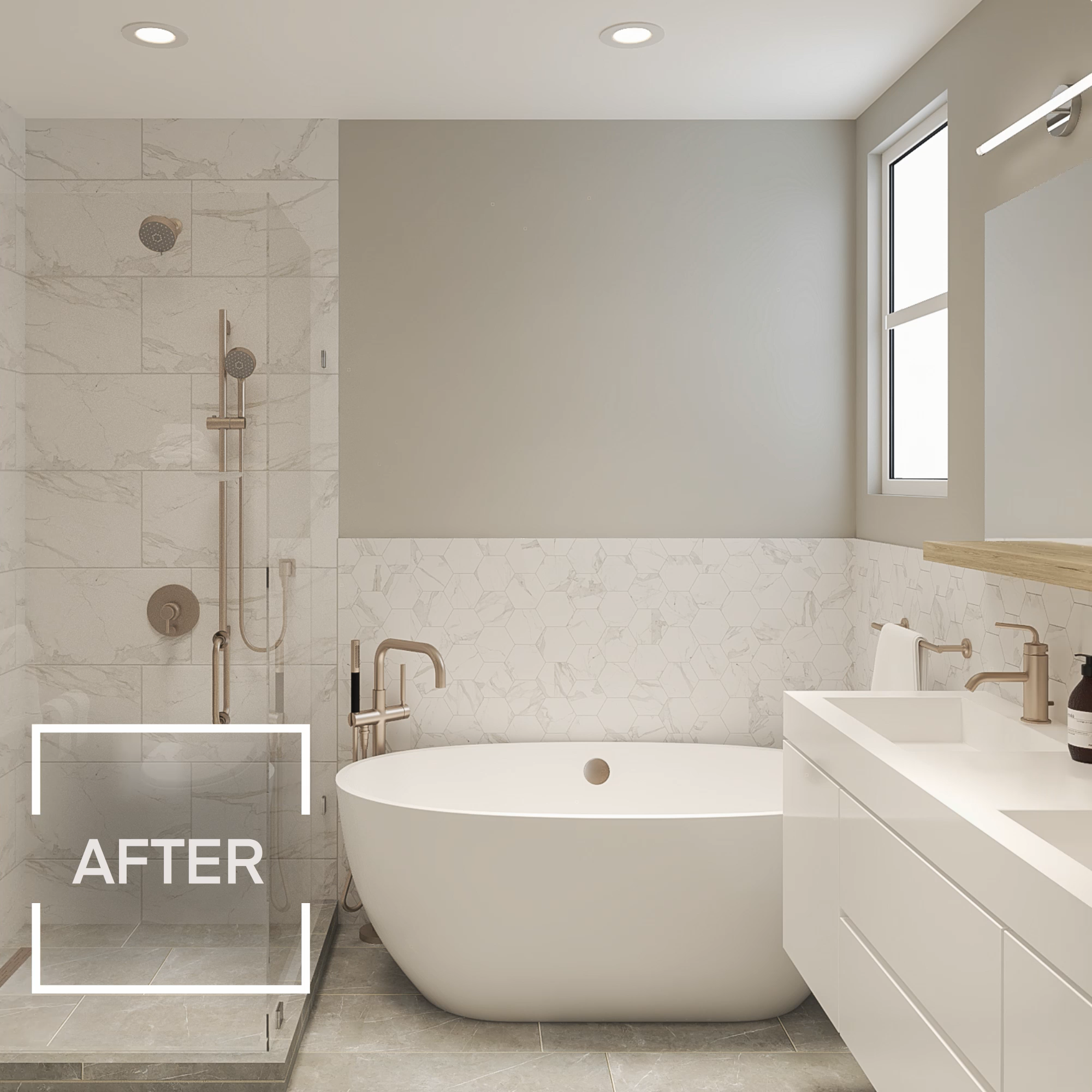 Bathroom Renovations Before & After