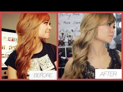 How To Fix Orange Hair Get Light Ash Brown Hair Youtube