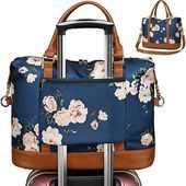 Photo of CAMTOP Women Ladies Weekender Travel Bag Overnight Carry-on Duffel Tote with Tro…