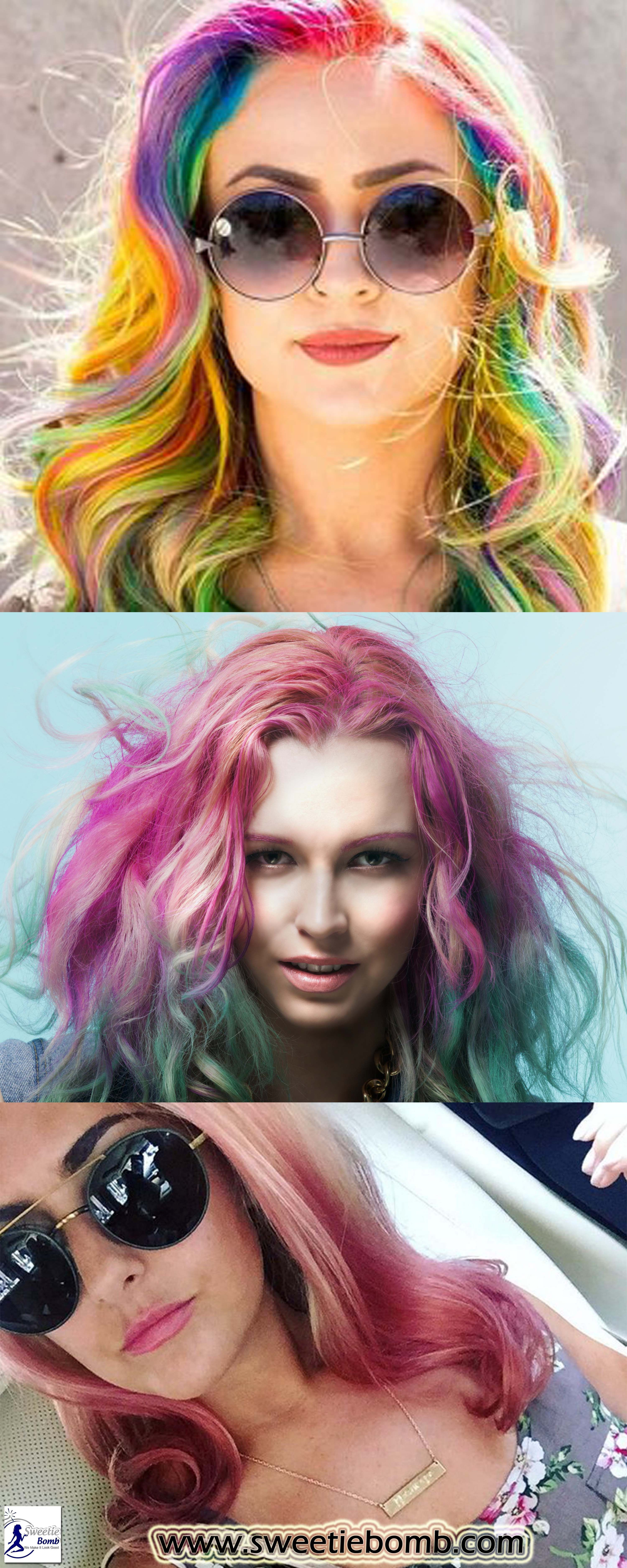 Top 9 Reasons To Dye Your Hair A Crazy Color Hair Hairstyle