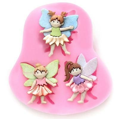 3d #fairy elf #figure silicone fondant mould cake decorating #chocolate mold tool,  View more on the LINK: http://www.zeppy.io/product/gb/2/262199282508/