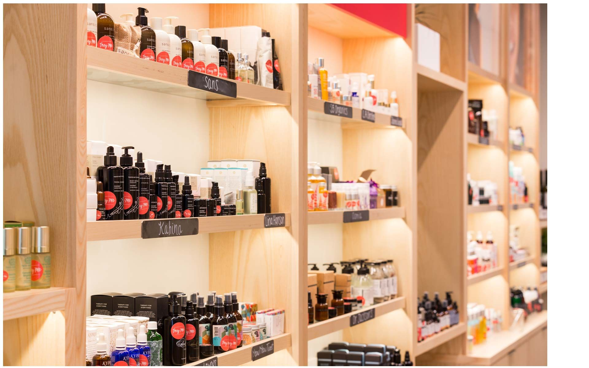 Commercial Remodel Flagship Store for Credo Beauty
