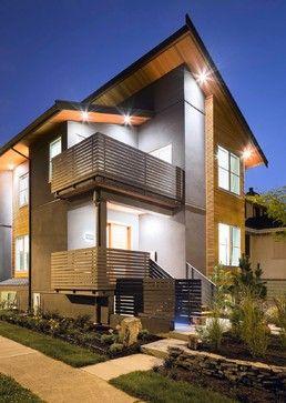 Contemporary architecture simple roof line also design rh pinterest
