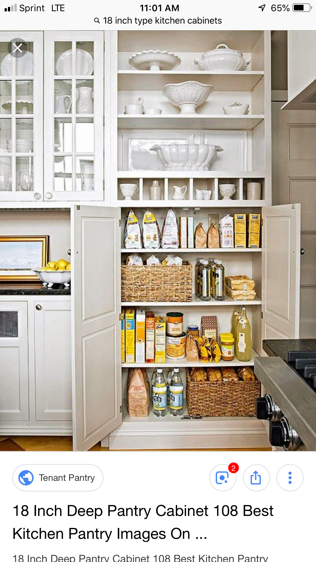 Pin By Brittany Gauchat Jones On Organization Types Of Kitchen Cabinets Deep Pantry Cool Kitchens