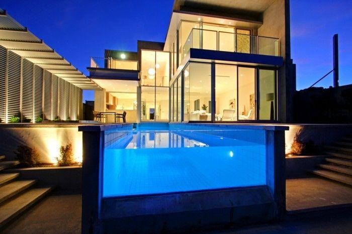 Moderne häuser mit innenpool  luxus pool noch ein luxus ferienhaus mit pool | Luxuriöse Designs ...