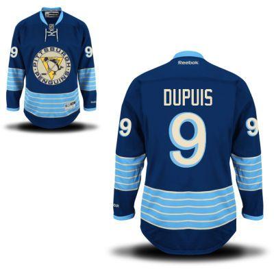 nhl jerseys pittsburgh penguins 9 pascal dupuis blue 2011 new winter ... 54cf1ef85
