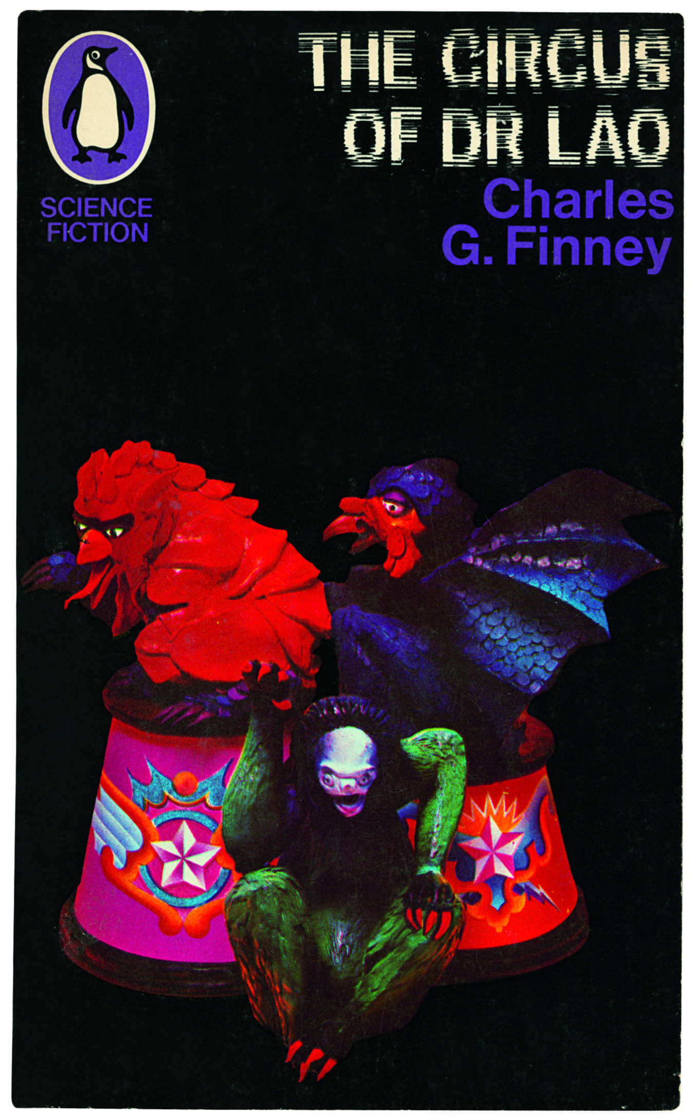 The Circus Of Dr Lao Charles G Finney A Penguin Books Cover