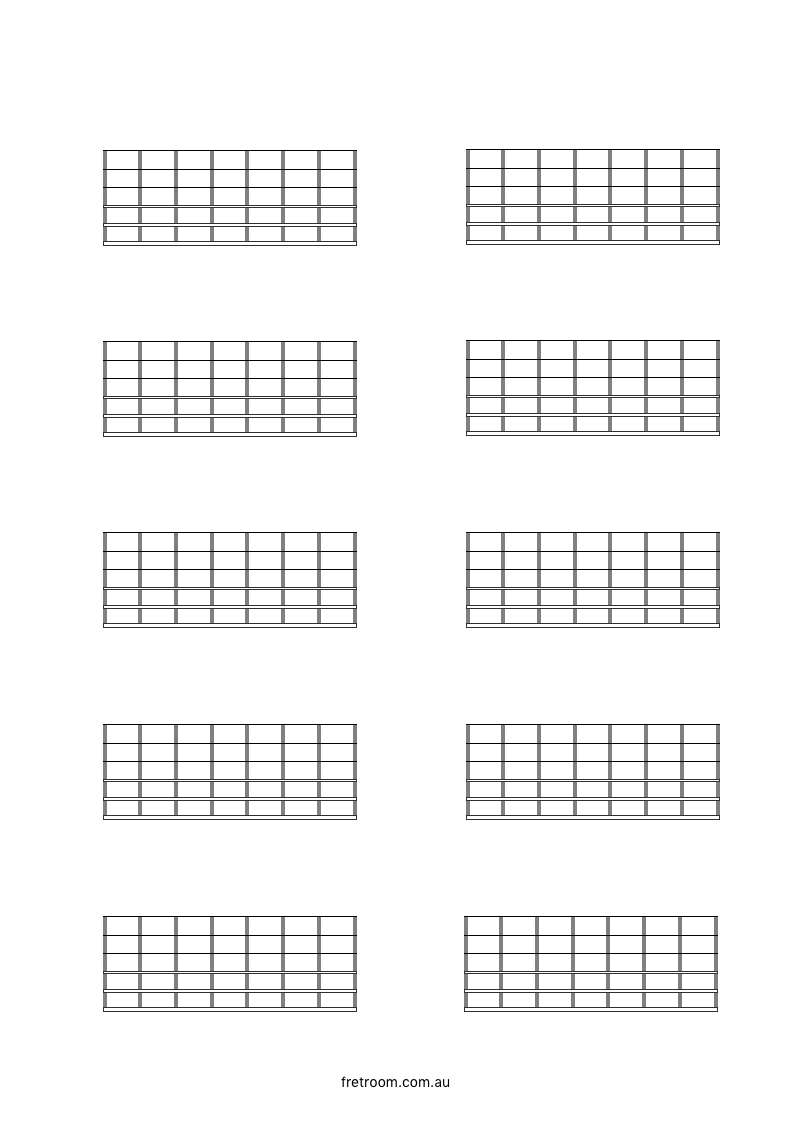 blank neck diagram 10x07 blank fretboard 10 blocks with. Black Bedroom Furniture Sets. Home Design Ideas