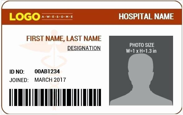 Free Id Card Template Word Fresh The Website Fers Word Editable Id Card And Badge Id Card Template Card Templates Free Online Cards