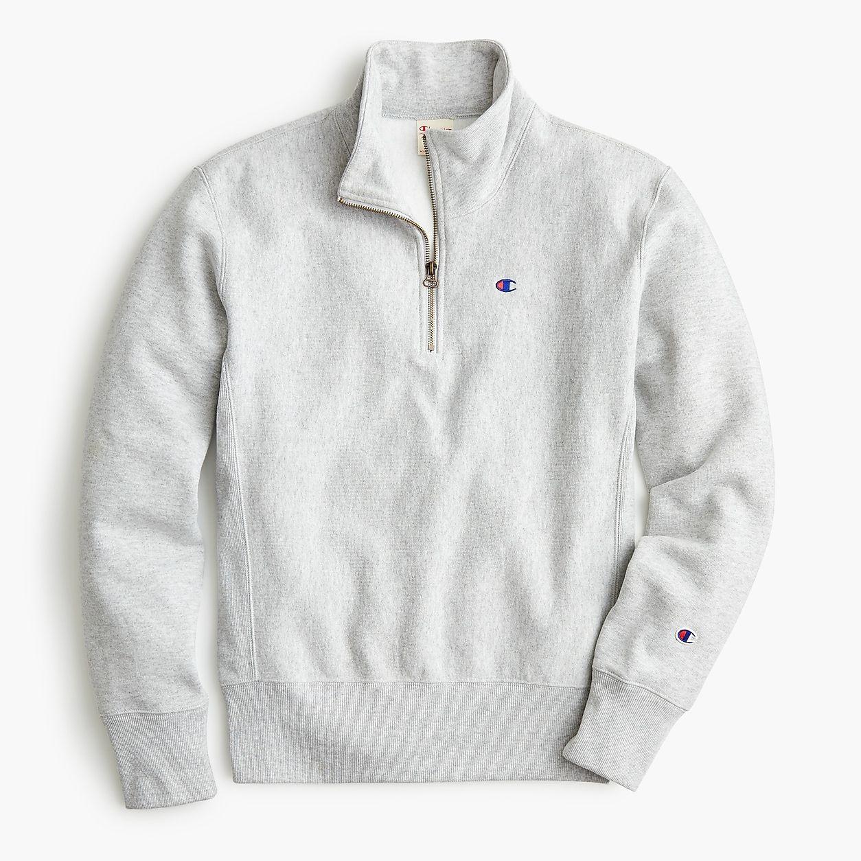 206c0026 Champion Half-Zip Pullover Sweatshirt | clothes. in 2019 | Half zip ...
