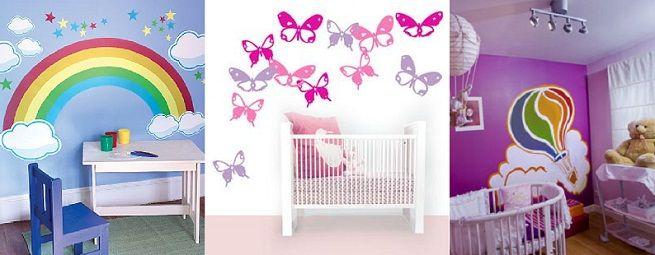 Decorar paredes de la habitación infantil   Bebes y Niños ...