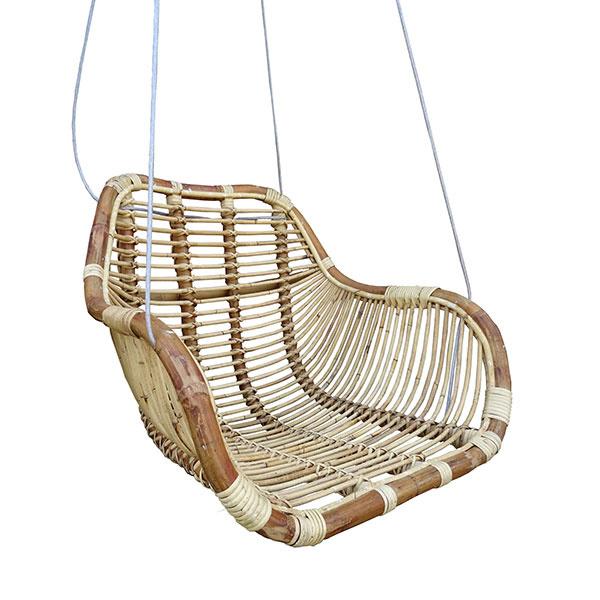 Hangstoel Aan Plafond Bevestigen.Rotan Hangstoel Fly Naturel 66x65xh49 Cm Summer Vibes In
